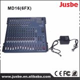 High-End Quality Professional 16 Channel Digital DJ Mixer Equipment for Outdoor Live Show