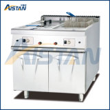 Gh985 Gas Fryer with Cabinet of Catering Equipment