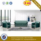Reddish Brown Office Sofa with Match Coffee Table (HX-CS020)