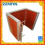 Copper Tube Fin Air Cooled Condenser for Refrigeration Part