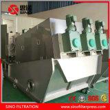 Horizontal Screw Filter Press Sludge Dehydrator for Sewage Treatment