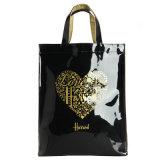 Two Sizes Waterproof PVC Heart Pattern Handbag (H003)