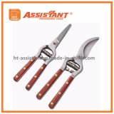Drop Forged Cut Pruner Set with Rosewood Handles Brass Rivets