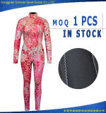 Woman's Neoprene Camo Flexible Elastic Freediving Windsurfing Wetsuit