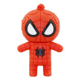 Hot Sell 4GB Spiderman USB Flash Drive Price Christmas Gift