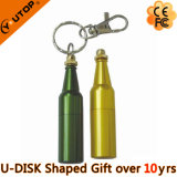 Promotion Gifts Beer Bottle Shaped Metal USB Flash Drive (YT-1216)