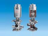 Sanitary Stainless Steel Ss304 316 Manual Reversing Valve