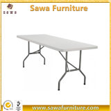 6FT Outdoor off White Plastic Folding Table