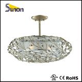 UL Listed Round Hanging Light Decorative Hotel Pendant Lamp Fixture for Indoor