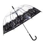 Simple Clear Dome Transparent Umbrella