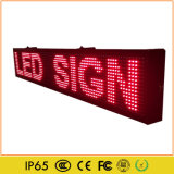 Outdoor Single Red LED Moving Display