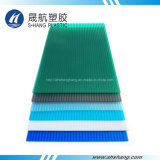 UV Protective Poly Carbonate Hollow Panel for Building Roof