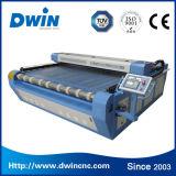 Pattern Design Laser Cloth Logo Cutting Machine