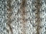 Jacquard Faux Fur /Knitted Plush Fur /Leopard Fur