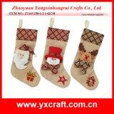 Christmas Decoration (ZY16Y150-1-2-3 42CM) Nice Christmas Model Kit Stocking