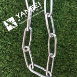 Zinc Plated Galvanized DIN763 Long Link Chain