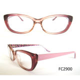 2015 Top Elegant Acetate Frame Glasses for Young Lady