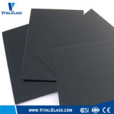 Black Flat Float Glass with CE & ISO9001