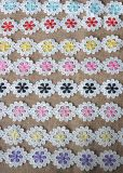 Wholesale Multiple Color Milk Yarn Embroidery Lace for Decoration