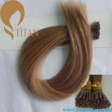 8# Indian Remy Human Hair Keratin I Tip Hair Extension