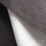 Polyester Suede Embossed Style Home Textile Fabric with Backing