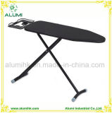 Hotel Black Foldable Ironing Board with Adjustable Height
