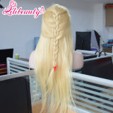 Hot Selling Hair Front Lace Hair Long Straight Blonde Wig