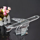 High Quality Souvenirs Airplane Professional Crystal Plane Model