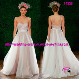 Pure Pretty Charming Bridal Wedding Dress with Sweetheart