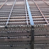 Black Serrated Grating / Welded Steel Bar Grating
