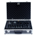 Aluminum Laptop Flight Case with Fire Proof Panel