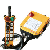 Wireless Radio Crane Industrial Remote Control with 10 Push Button (F24-10s)