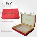 Custom Piano Finish Luxury Woodden Chocolate Packaging Box