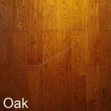 Wooden Flooring White Oak with Teak Color Flooring