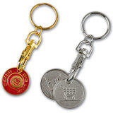 Promotion Custom Logo Metal Cheap Keychain (A-001)