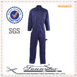 2017 Customize Safety Uniform Embroidery Coverall Workwear