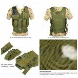 Tactical Army Combat Assault Oxford Fabric Defensive Mesh Vest Cl4-0031