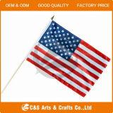 Custom USA Stick Flag, Hand Stick Flags