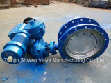 High Pressure Triple Offset Butterfly Valve with Electrical Actuator