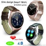 2016 New Slim Design Bluetooth 4.0 Smart Watch with Mtk2502 System (K78H)