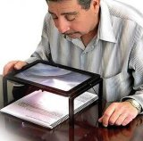 LED Lighted Magnifier, Foldable Magnifier, Reading Magnifier