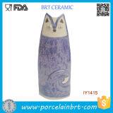 Lovely Fantastic Cat Porcelain Vase