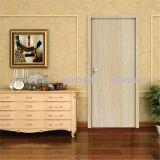 No Formaldehyde Wood Plastic Composite WPC Security Entry Door (KM-03)