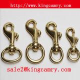 Dog Hook Trigger Swivel Hook Metal Spring Hook Snap Hook Solid Brass Bolt Snap Hook for Bag Handbag Luggage Key