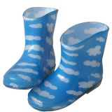 Blue PVC Children Rain Boots (JMC-343C)