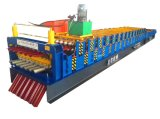 High Efficient and Safe Metal Roof Panel Roll Forming Machine