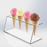 Acrylic Ice Cream Cone Stand