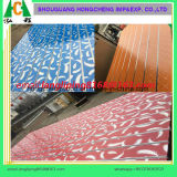 PVC or Melamine High Gloss Slotted Panel
