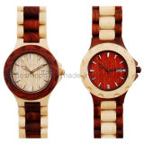 Waterproof Unisex Wood Watch with Calendar (SA1353)