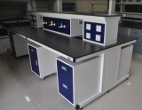 Professional Lab Furniture Lab Island Bench with Movable Cabinet